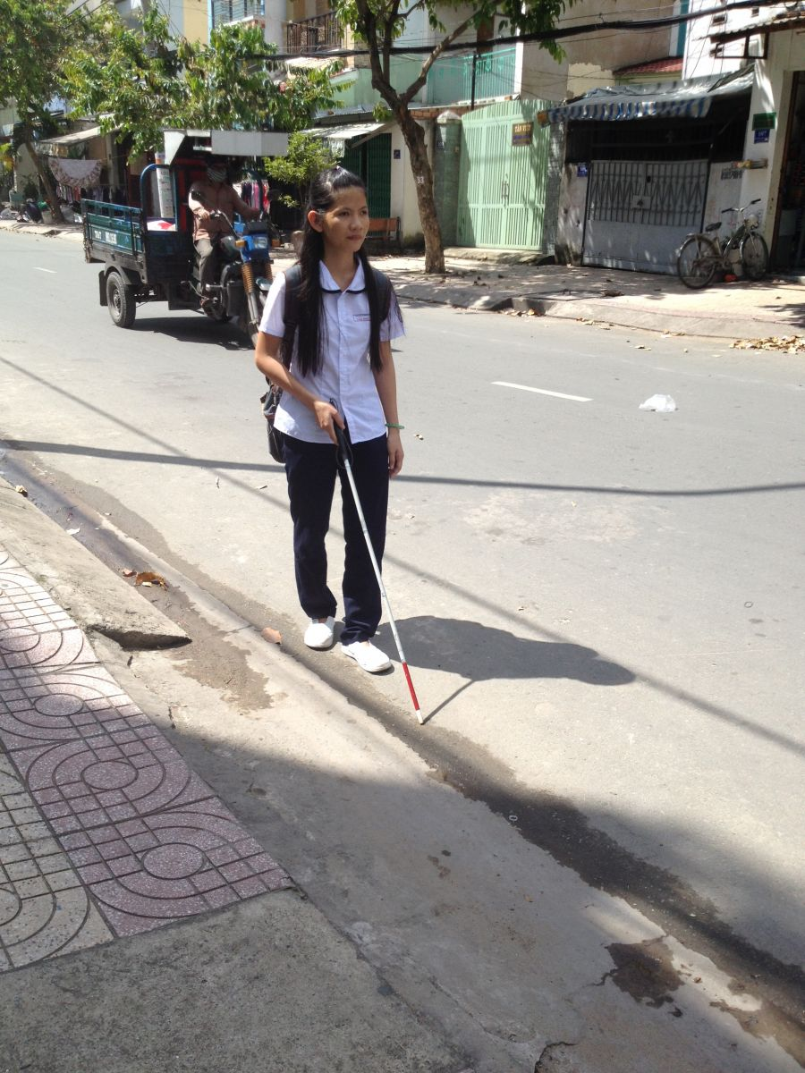 THIEN AN WHITE CANE – A BELOVED FRIEND